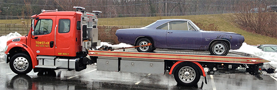 Towstar hauls classic cars in Avon CT