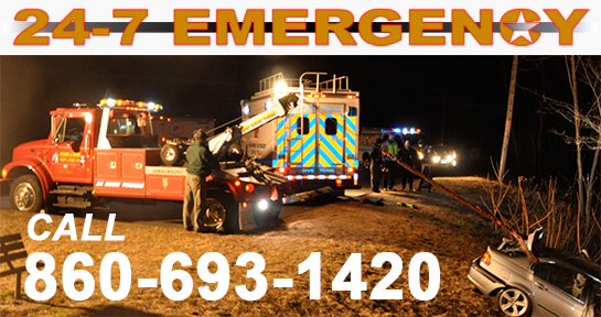 Emergency towing simsbury CT