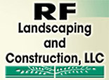 Flatbed hauling equipment in Connecticut for customer RF Landscaping
